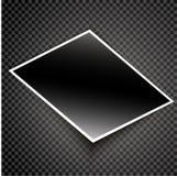 Realistischer Fotokartenvektor Lizenzfreies Stockfoto