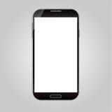 Realistischer intelligenter Telefon-Vektor Lizenzfreies Stockfoto