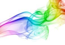 Realistischer Rauchhintergrund Lizenzfreie Stockbilder