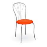 Realistischer Stuhl lokalisiert auf Weiß für Entwurf. Stockbild