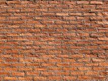 Realistisches Beschaffenheits-Design Wand des roten Backsteins Leerer Hintergrund des roten Backsteins für Darstellungen und Webd Lizenzfreies Stockbild