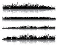 Realistisches dunkles Gras Lizenzfreie Stockbilder