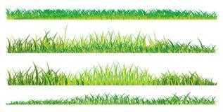 Realistisches Sommergras Lizenzfreies Stockbild