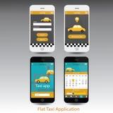Realistisches Vektor-Handy-Modell wie Iphone-Design-Art Stockfotografie