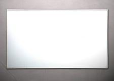 Realistisches whiteboard Stockfoto