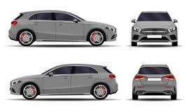 Realistisk bil hatchback Royaltyfria Bilder