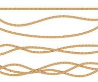 Realistisk 3d specificerade repet för garnering vektor royaltyfri illustrationer