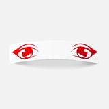 Realistisk designbeståndsdel: ögon Royaltyfri Bild