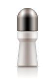 Realistisk flaska med roll-ondeodoranten Arkivfoto