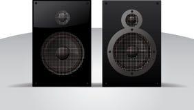 Realistisk illustration för vektor av högtalare Arkivfoton