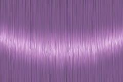 Realistisk ljus violett textur för rakt hår stock illustrationer