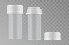 Realistisk modell 3d för vektorillustrationer Arkivbild