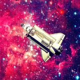 Realistisk plats 3D Beståndsdelar av denna avbildar möblerat av NASA Arkivbild