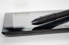 Realistisk tabletPC Arkivfoto