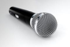 realistiska 3d framför av den trådlösa mikrofonen Arkivfoto