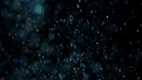 Realistiskt blänka explosion på svart bakgrund arkivfilmer
