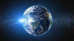 Realistiskt världsjordklot Royaltyfria Bilder