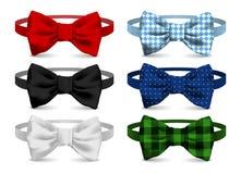 Realistyczna łęku krawata ilustracja fotografia stock