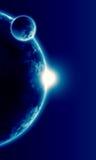 Realistyczna ilustracja planety ilustracja wektor