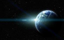 Realistyczna planeta ilustracja wektor