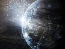 Realistyczna planeta ilustracji