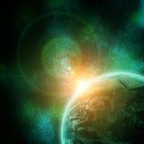 Realistyczna planety ziemia royalty ilustracja