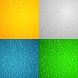 Realistyczne obcieknięcie krople woda szkło stubarwny Kolorowy tło dla twój projektów świeżość czysta również zwrócić corel ilust ilustracja wektor