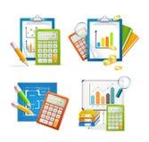 Realistycznego Szczegółowego 3d biznesu żądania Ustalona forma wektor Obrazy Stock