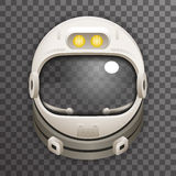 Realistyczny hełma 3d kosmonauta astronauta ilustracji