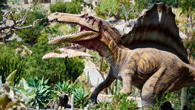 Realistyczny model Spinosaurus Zdjęcie Royalty Free