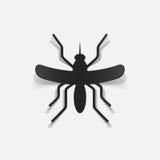 Realistyczny projekta element: komar Zdjęcia Royalty Free