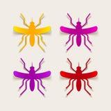 Realistyczny projekta element: komar Zdjęcie Royalty Free