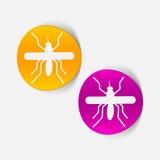 Realistyczny projekta element: komar Obraz Stock