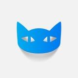 Realistyczny projekta element: kot Zdjęcia Royalty Free