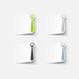 Realistyczny projekta element: krawat Zdjęcie Stock
