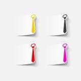 Realistyczny projekta element: krawat Obrazy Stock