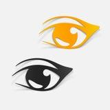 Realistyczny projekta element: oko Zdjęcie Stock