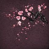 Realistyczny Sakura okwitnięcie na grang tle royalty ilustracja