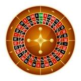 Realistyczny Szczegółowy koła szczęście Wiruje Szczęsliwą Ruletową Uprawia hazard grę w kasynie Wektorowa ilustracja sukcesu symb royalty ilustracja