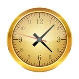 Realistyczny zegar odizolowywający również zwrócić corel ilustracji wektora Obraz Royalty Free