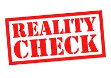 Realitätsprüfung lizenzfreie abbildung