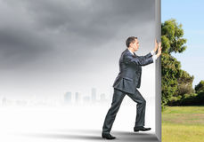 Reality change Stock Images