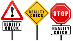 Reality check Stock Images