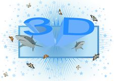 Reality Movies in 3D Royalty Free Stock Photo