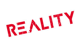Reality rubber stamp Stock Photos