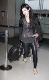 Reality star Kat Von D at LAX Royalty Free Stock Image