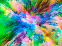 Reality of Surreal Paint Royalty Free Stock Photo