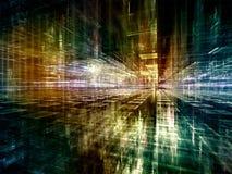Reality of Virtual World Stock Photography