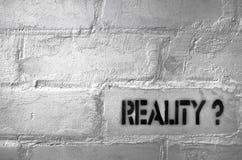 Reality? royalty free stock photos