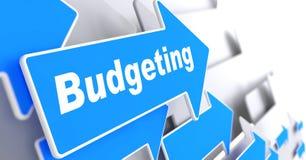 Realização do orçamento. Conceito do negócio. Fotos de Stock